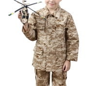 Rothco Kids Bdu Shirt - Desert Digital Camo