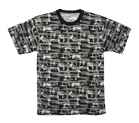 Rothco Black Faded Guns Pattern T-Shirt - 66230