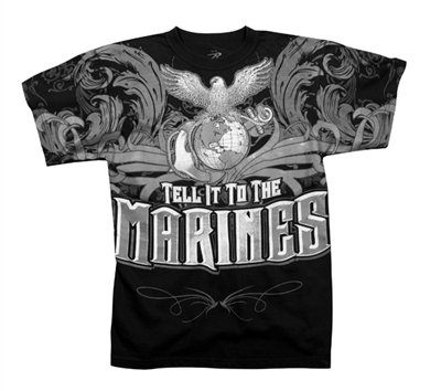 Rothco Vintage Tell It To The Marines T-Shirt - 66370