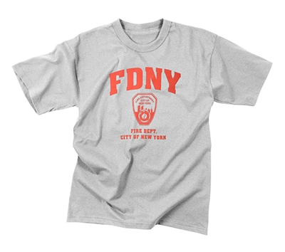 Rothco FDNY Physical Training T-Shirt - 6683
