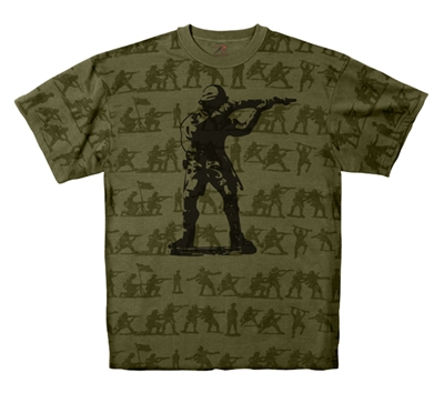 Rothco Olive Drab Soldier Camo T-Shirt - 66950
