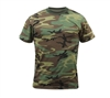 Rothco Kids Woodland Camouflage T-Shirt - 6703