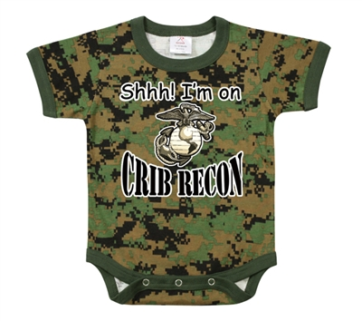 Rothco Woodland Digital Crib Recon One Piece - 67054