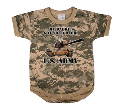 Rothco Infant Digital Camo One Piece - 67056