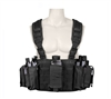 Rothco Black Operators Tactical Chest Rig - 67550