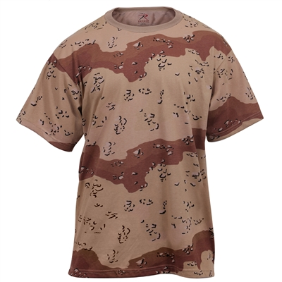 Rothco Six Color Desert Camo T-Shirt - 6767