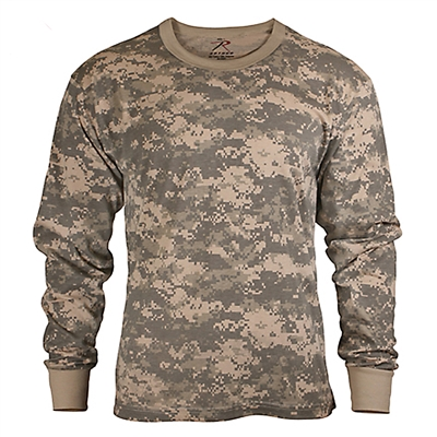 Rothco Kids Digital Camo Long Sleeve T-Shirt - 6775