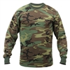 Rothco Woodland Camo Long Sleeve T-Shirt - 6778