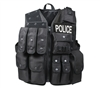Rothco Black Tactical Raid Vest - 6785