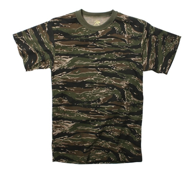 Rothco Tiger Stripe Camo T-Shirt - 6787