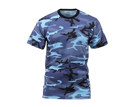 Rothco Sky Blue Camouflage T-Shirt - 6788