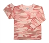 Rothco Infant Pink Camo Long Sleeve T-Shirt - 6862