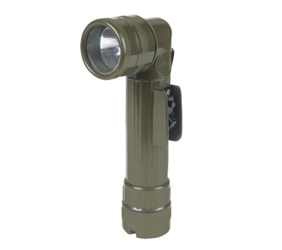 Rothco Olive Drab Angle Head Flashlight - 688