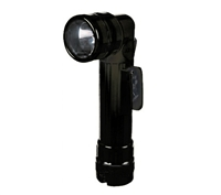 Rothco Black Angle Head Flashlight - 689