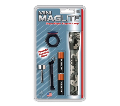 Maglite Mini Digital Camo Combo Pack - M2AMRC