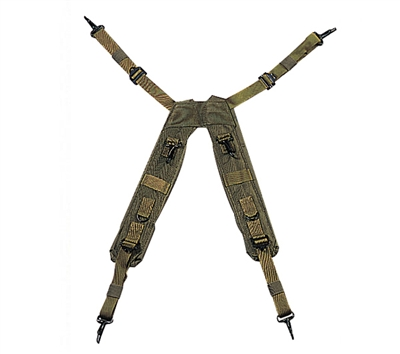 Rothco Olive Drab H Style Suspenders - 7045