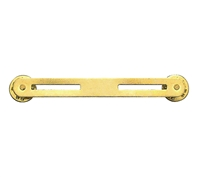 Rothco 2 Ribbon Brass Mount - 71002