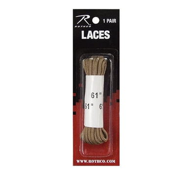 Rothco 61 inch Desert Tan Boot Laces - 7158