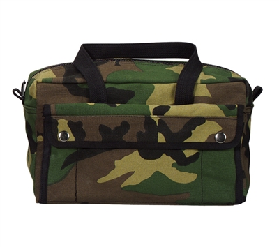 Rothco Woodland Camo Mechanics Tool Bag - 7181