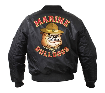 Rothco Marine Bulldog Ma-1 Flight Jacket - 7182