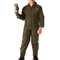 Rothco Kids Olive Drab Air Force Flight Suit - 7200