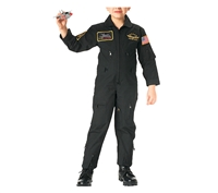 Rothco Kids Black Aviator Flight Coverall - 7203