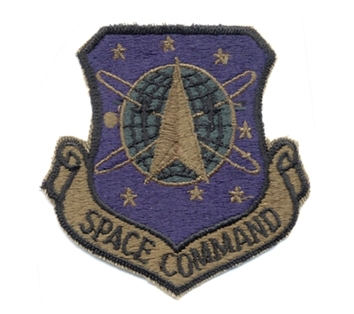 Rothco Subdued Space Command Patch - 72102.