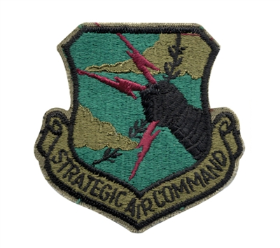 Rothco Subdued Strategic Air Command Patch - 72104