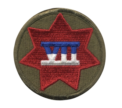 Rothco 7th Corp Patch - 72119