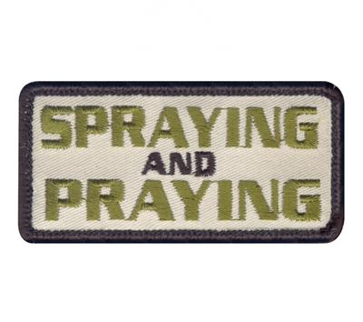 Rothco Spraying Praying Patch - 72193