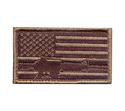 Rothco Subdued Flag Rifle Patch - 72204