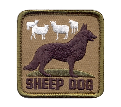 Rothco Sheep Dog Patch - 72206