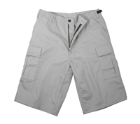 Rothco Grey Longer Style BDU Short - 7228