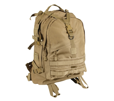 Rothco Coyote Large Transport Pack - 7289
