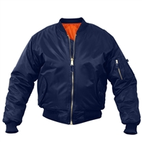 Rothco Kids Navy MA-1 Flight Jacket 7312