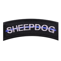 Rothco Thin Blue Line Sheepdog Morale Patch - 7473