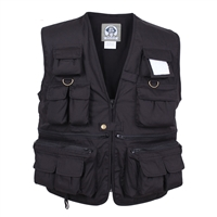 Rothco Black Travel Vest - 7531