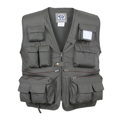 Rothco Olive Drab Travel Vest - 7540
