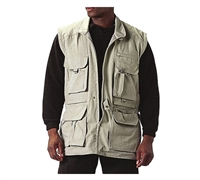 Rothco Khaki Safari Jacket - 7590