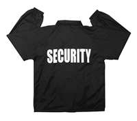 Rothco Black Security Coaches Jacket - 7648