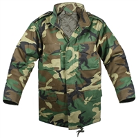 Rothco Kids Woodland Camo M-65 Field Jacket - 7660