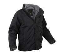 Rothco Black All Weather 3 In 1 Jacket - 7704