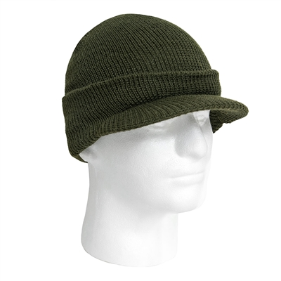 Rothco Olive Drab Wool Jeep Cap - 7709