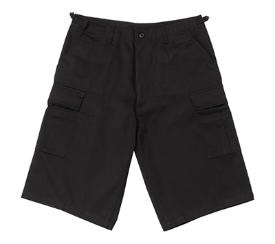 Rothco Black Long BDU Shorts - 7761