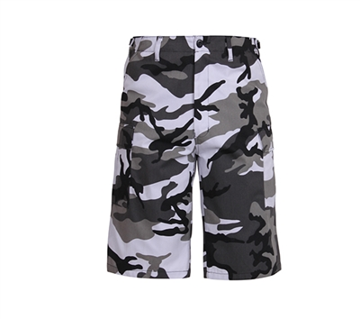 Rothco City Camo Long BDU Shorts - 7769