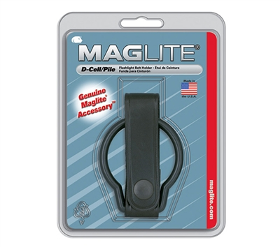 Maglite D Cell Leather Belt Holder - ASXD036