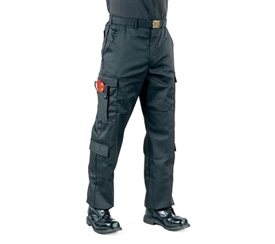 Rothco Black EMT Pants - 7823