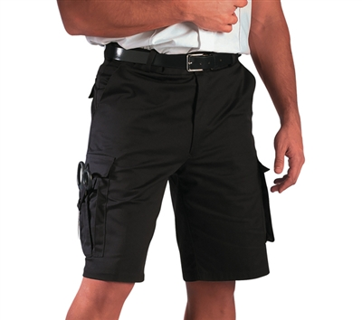 Rothco Black EMT Shorts - 78231