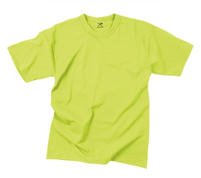 Rothco Safety Green T-Shirt - 7856
