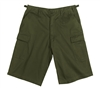 Rothco Olive Drab Long BDU Shorts - 7962